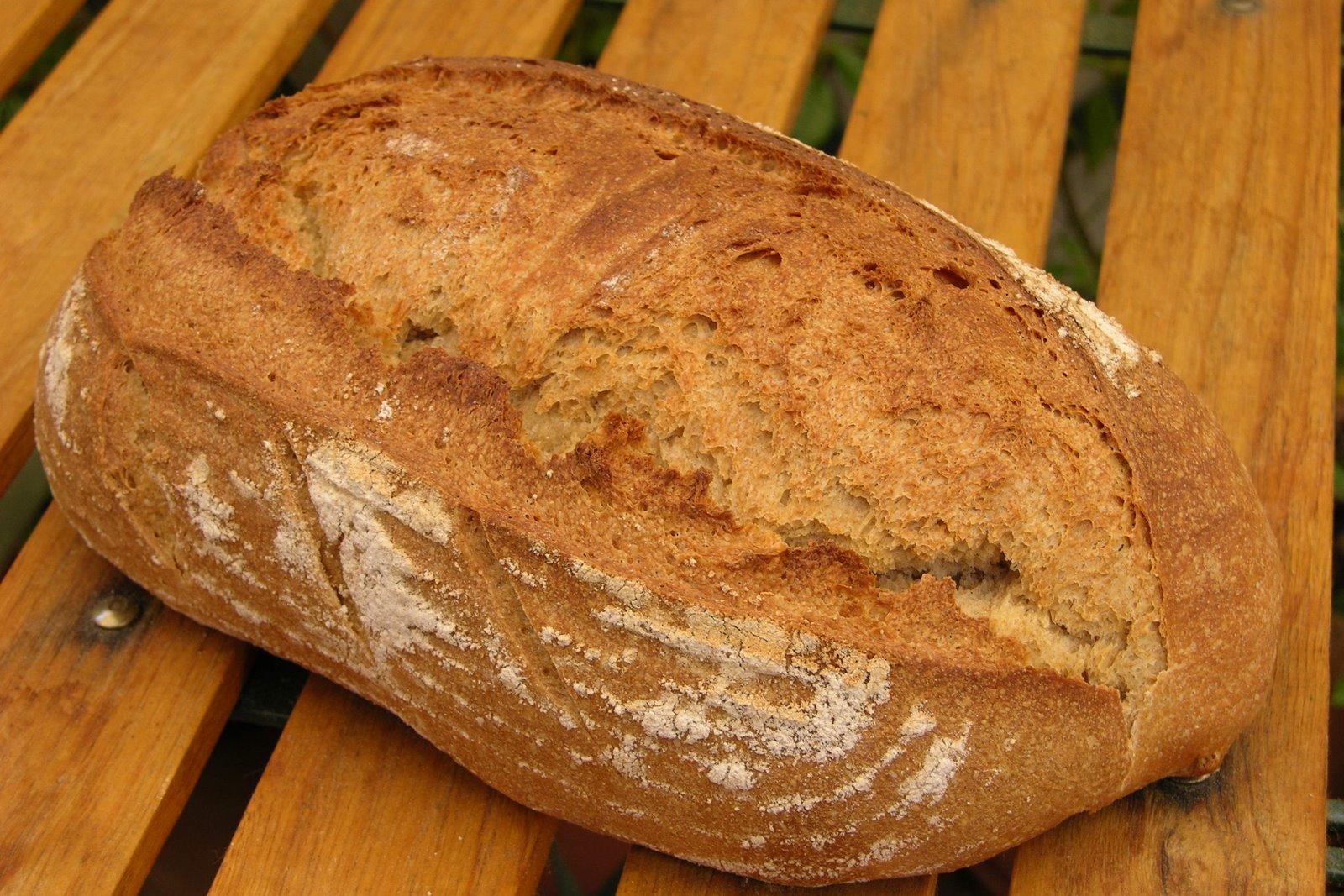 Pan de harina integral de trigo arag n03 madrid tiene miga - Harina integral de trigo ...